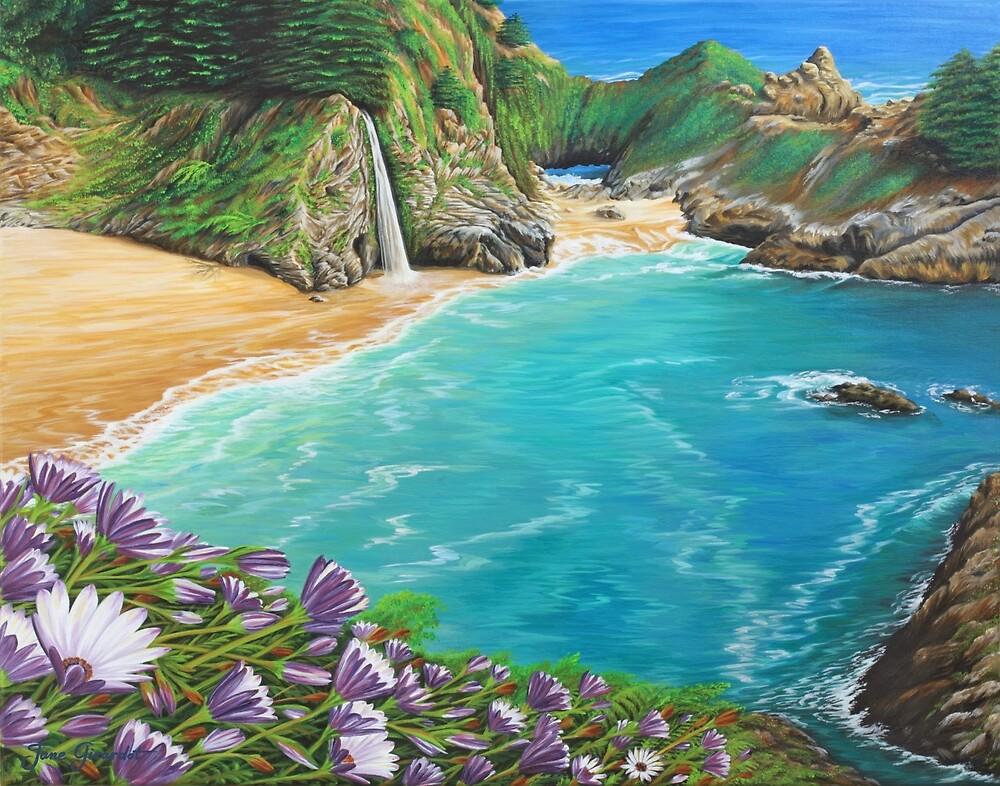 McWay Falls by Jane Girardot