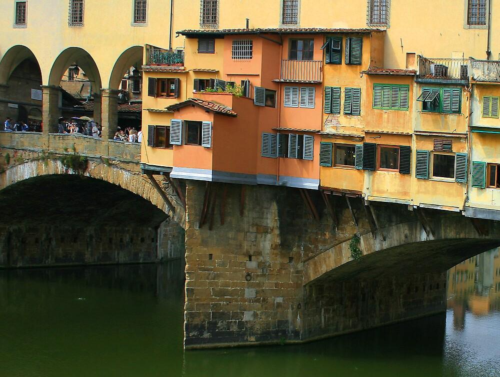 Ponte Vecchio, Florence by William Mason