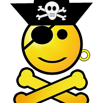 Pirate Emoticon - Smiling by Gravityx9