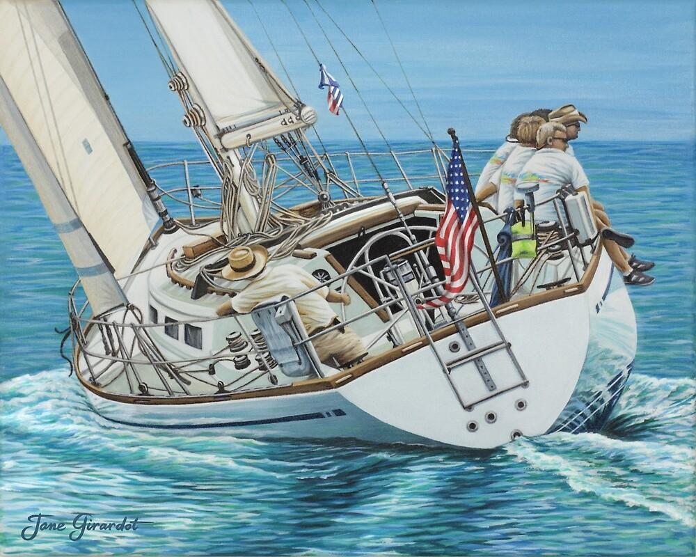 Sailing Away by Jane Girardot