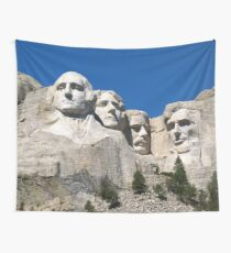 Mount Rushmore  Wall Tapestry