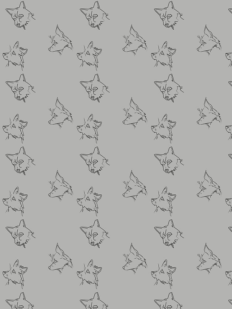 Grey Yorkie Mix by ArtinQuoteMarks
