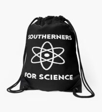 Southerners for Science Drawstring Bag