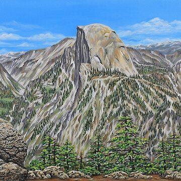 Springtime In Yosemite Valley by janegirardot