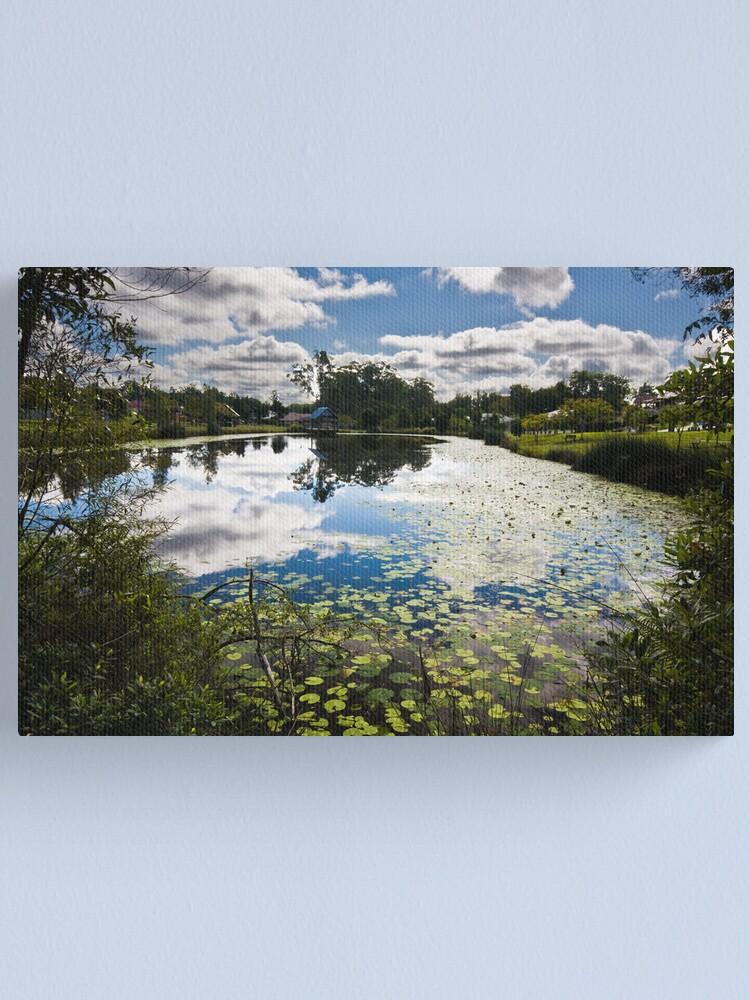 Alternate view of Pond 2 Canvas Print