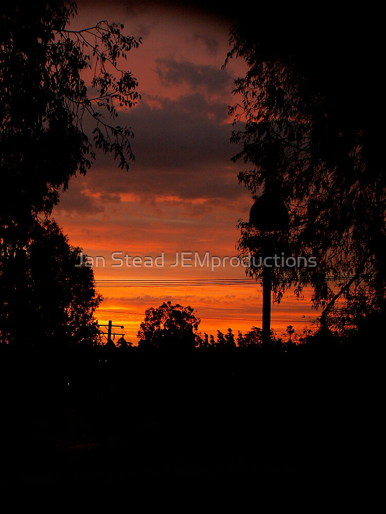 fire in the sky by Jan Stead JEMproductions