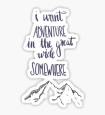 Beauty and the Beast - Adventure Sticker