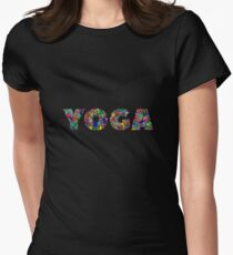 Yoga Women's Fitted T-Shirt