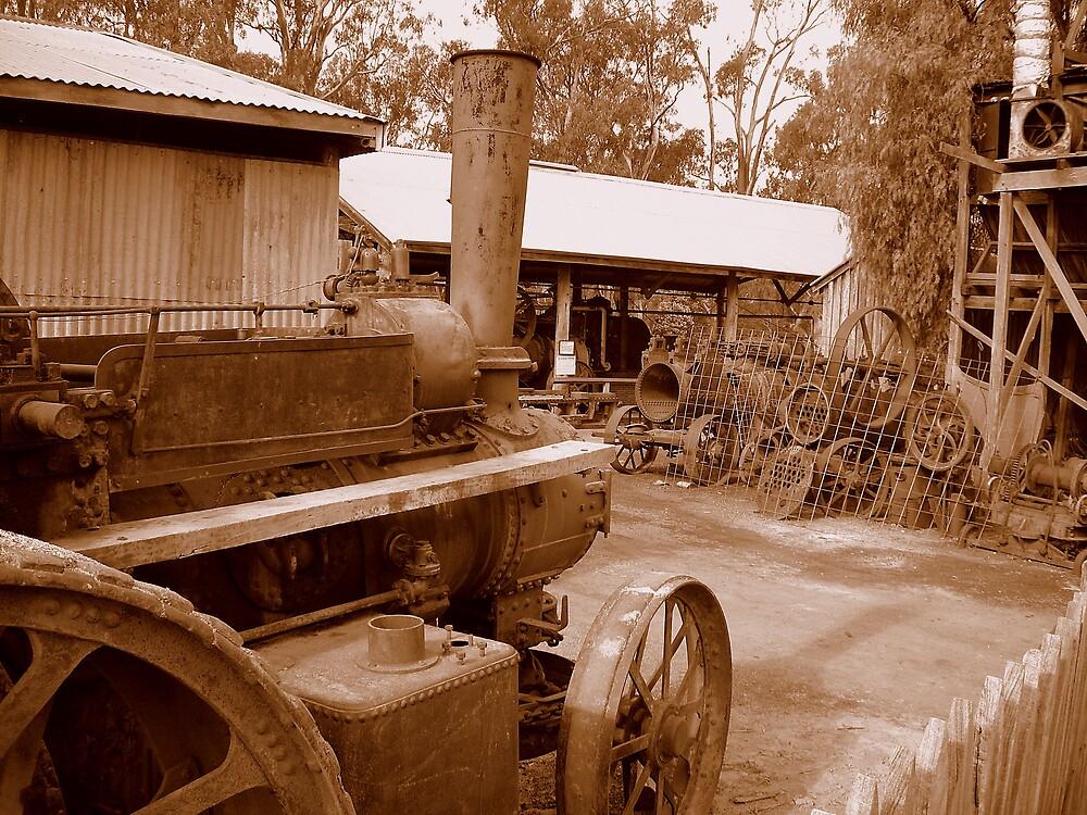Steam Tractor by Chris Kean
