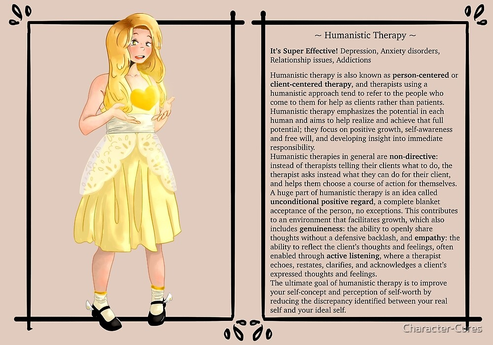 Humanistic Therapy - Character Sheet by Character-Cures