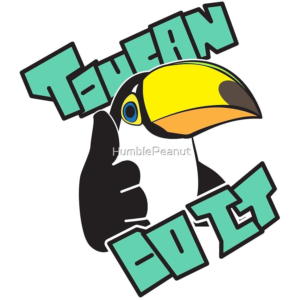 Toucan Do It by HumblePeanut
