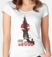 the dark tower Women's Fitted Scoop T-Shirt