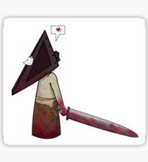 Chibi Pyramid Head Sticker