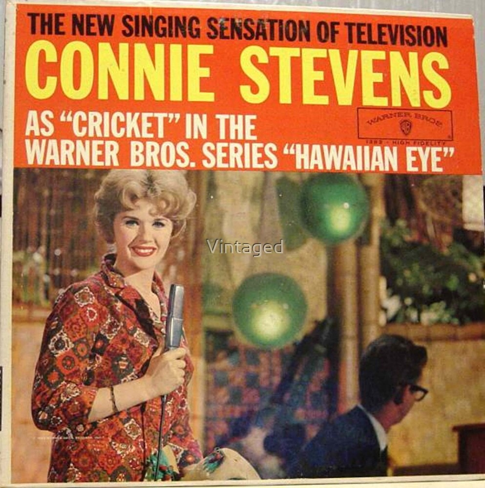 Connie Stevens, Cricket, 60's Television Star, TV, LP by Vintaged