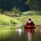 Kayaking on Still Waters by Edwin Davis