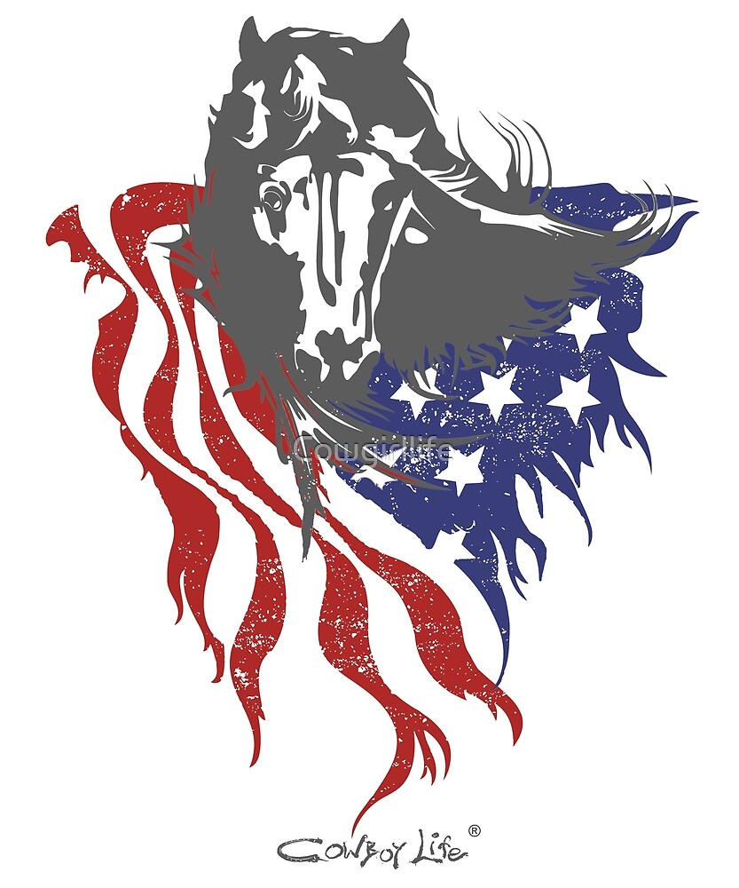 American Freedom by Cowgirl Life by Cowgirllife