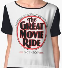 The Great Movie Ride 1989-2017 Chiffon Top