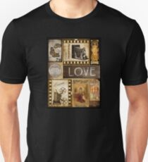 Vintage Barcelona Love Butterfly Unisex T-Shirt