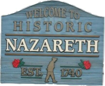 Nazareth PA Sign by jberg12