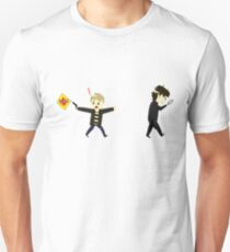 Sherlawk and Jawn clueing for looks Unisex T-Shirt