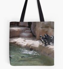 Penguin Party Tote Bag