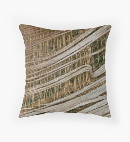 Fibrous Throw Pillow
