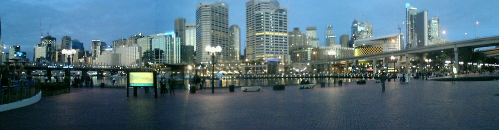 Darling Harbour Sydney by Piratefunk