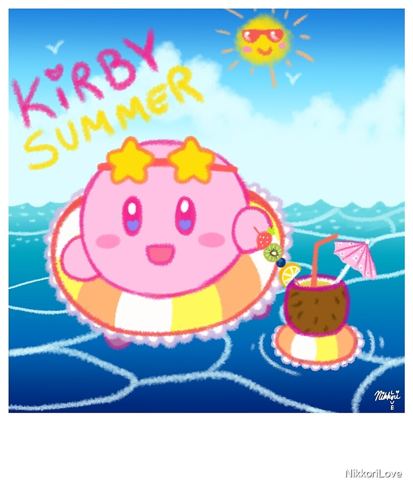Kirby Summer by NikkoriLove