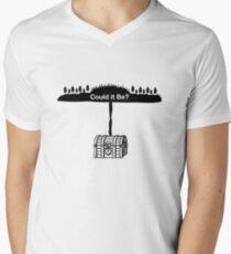Could it Be Oak Island Curse Nova Scotia  Men's V-Neck T-Shirt