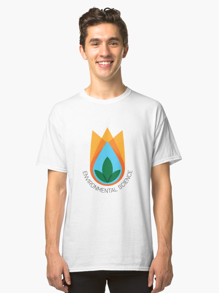 Environmental Science Emblem Classic T-Shirt Front