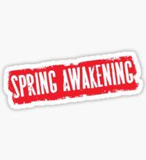 Spring Awakening (logo) Sticker