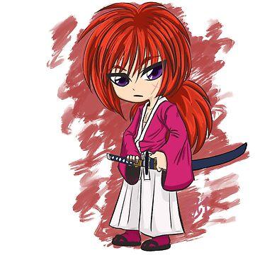 Rurouni Kenshin - Kenshin Himura by bvbartprophetrb