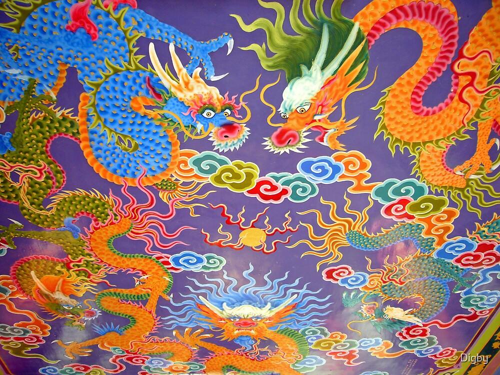 Dragon Fresco by Digby