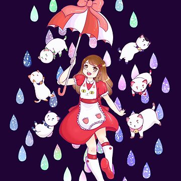 Bee and Puppycat - Raindrops of  Space by ateliershoshi