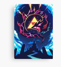 Skizorr - Ganon & Hyrule Castle Canvas Print