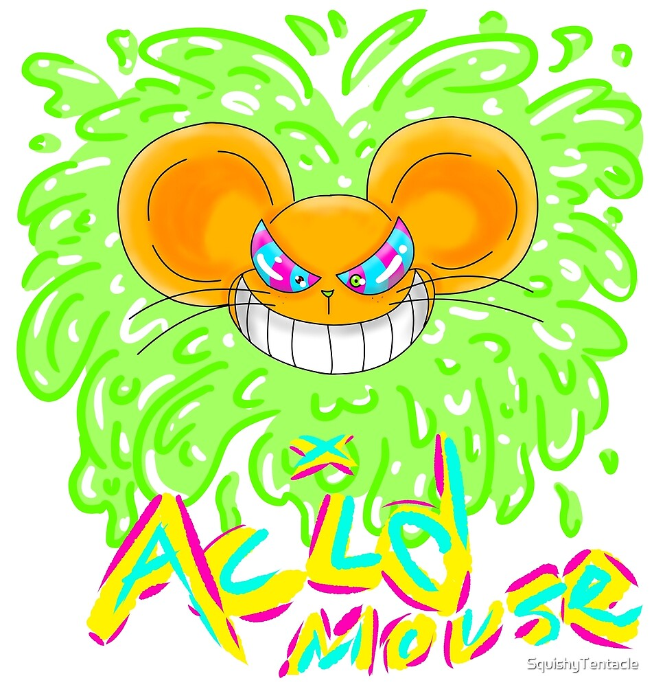 Acid Mouse by SquishyTentacle