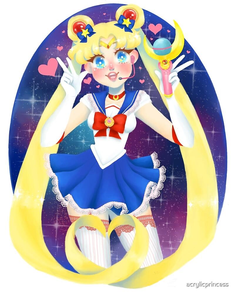 Sailor Moon idol ver. by acrylicprincess