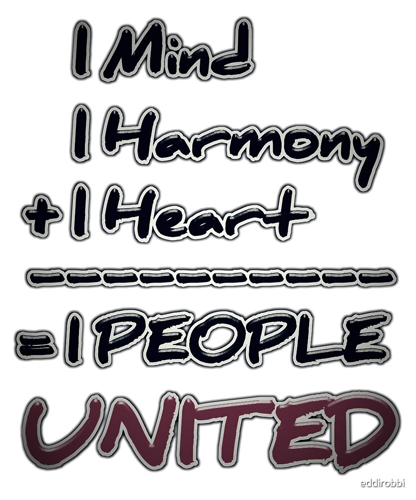 One People UNITED by eddirobbi