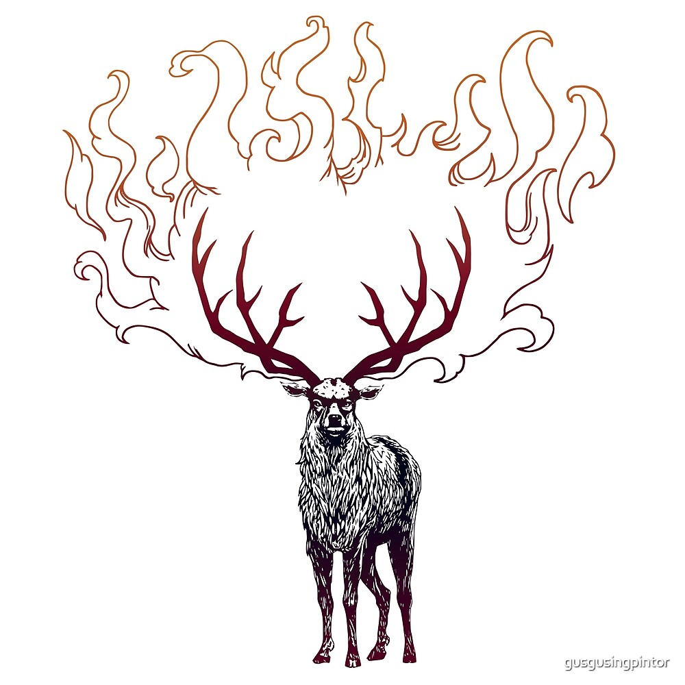 Baratheon Stag - Ours is the Fury by gusgusingpintor