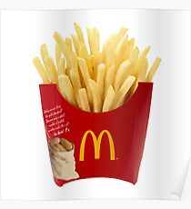 McDonalds Fries Poster