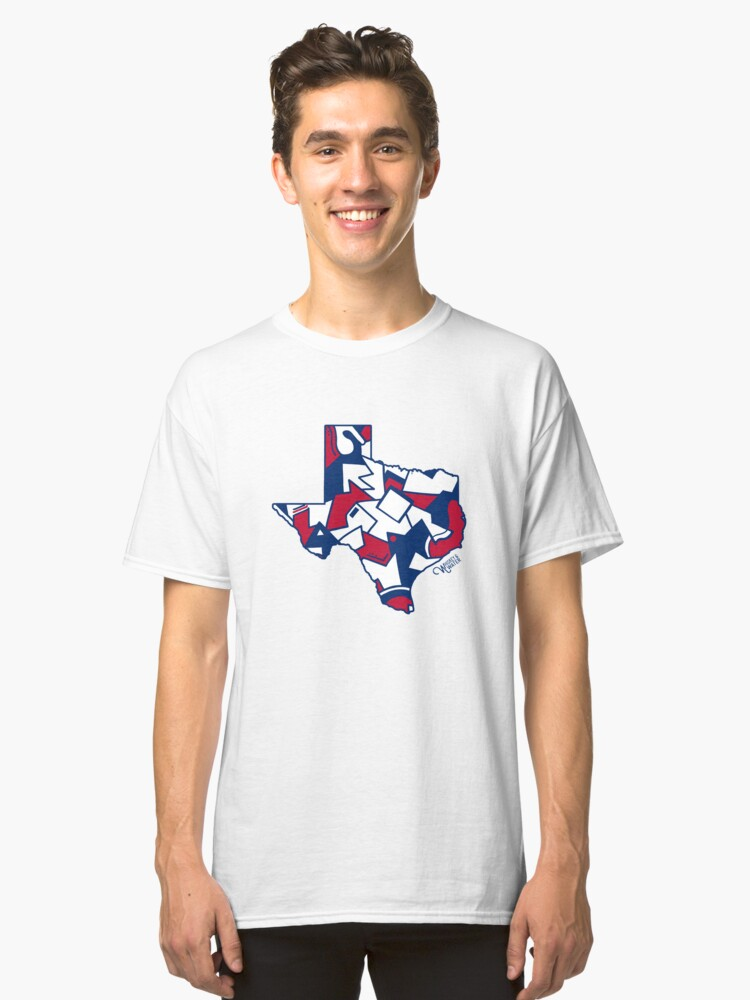 Lone Star State Love Classic T-Shirt Front