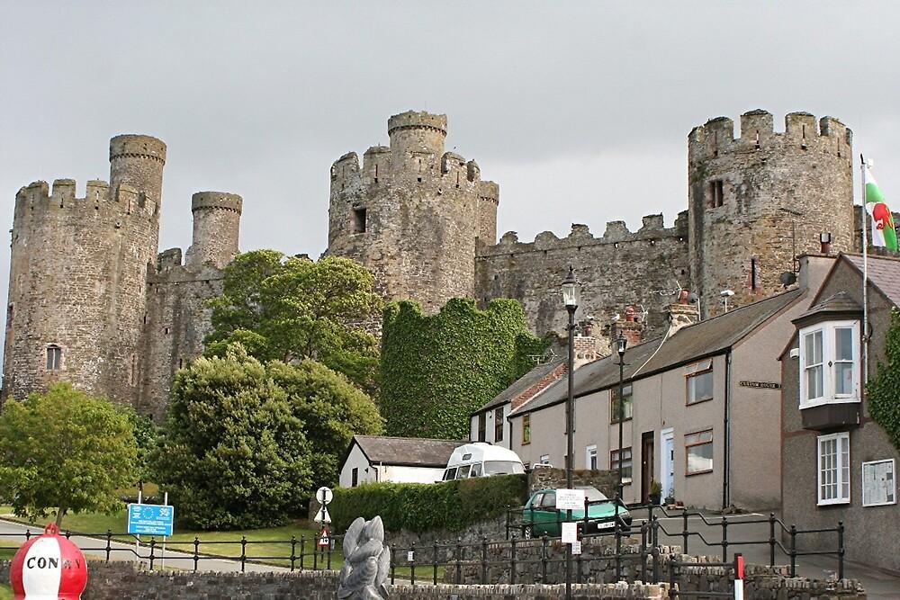 Conwy Castle, Wales, United Kingdom by FranWest