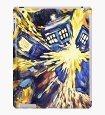 Exploding TARDIS Painting by Van Gogh iPad Case/Skin