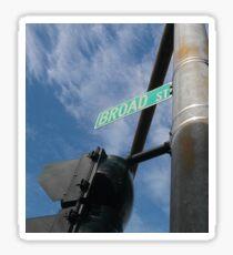 Broad Street Providence Sticker