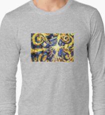 Exploding TARDIS Painting by Van Gogh T-Shirt