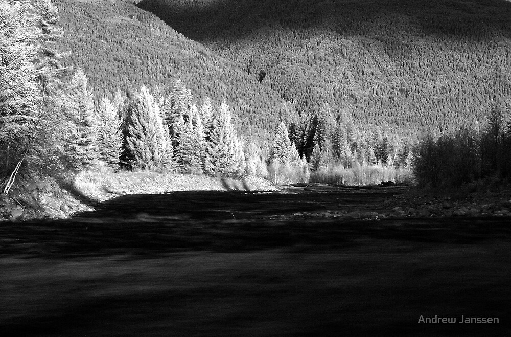 River Infrared by Andrew Janssen