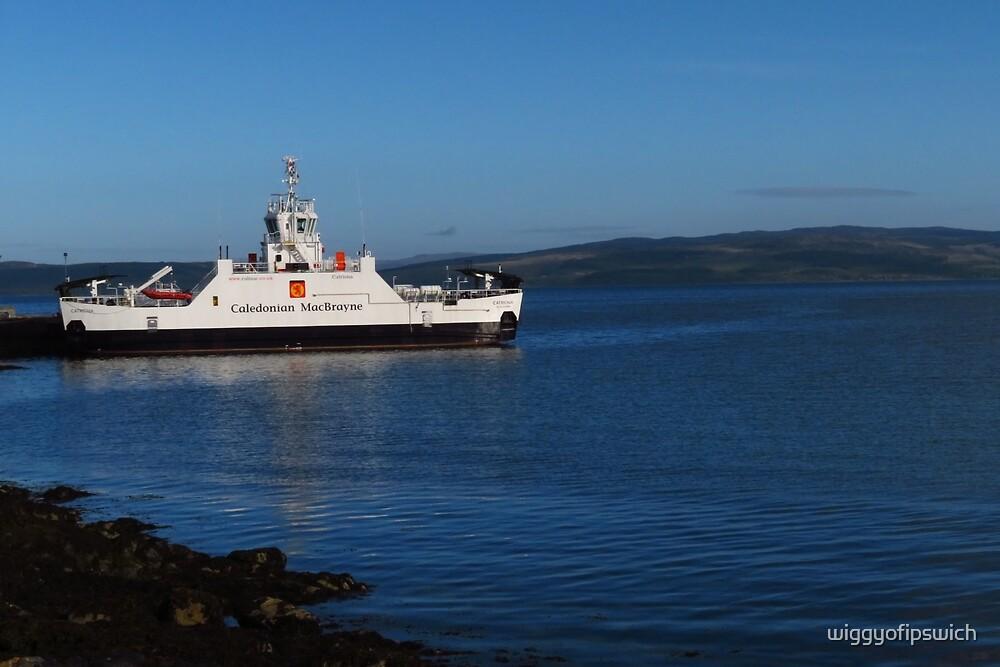 Lochranza, Arran to Claonaig Ferry by wiggyofipswich