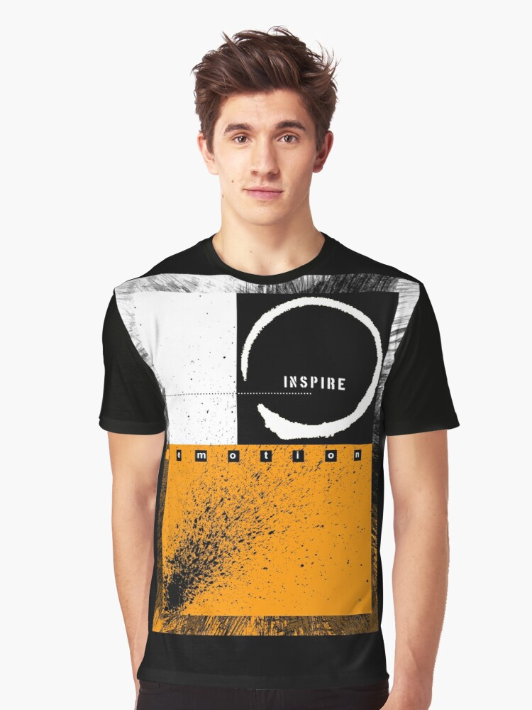 inspire Graphic T-Shirt Front
