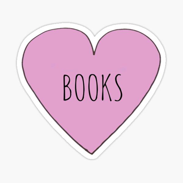 BOOK LOVE Sticker