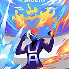 Skizorr - Todoroki Shouto  by Skizorr